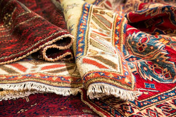 Persian Rugs, Varioius Sizes And Colours