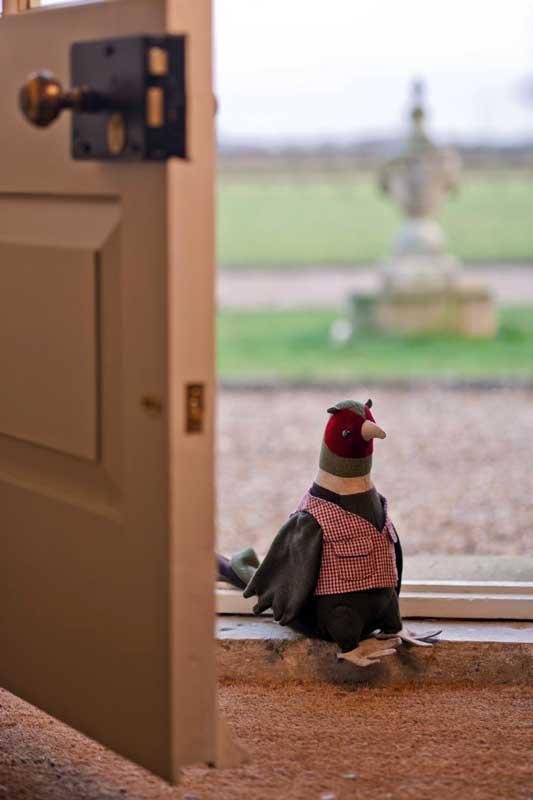Dora Designs Pheasant Doorstop