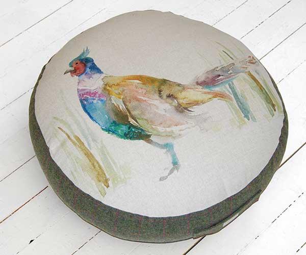 Voyage Pheasant Floor Cushion
