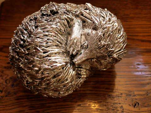 Bronze Imitation Paperweight.