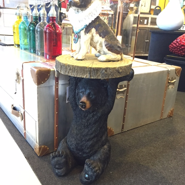 Table In Style Of Bear