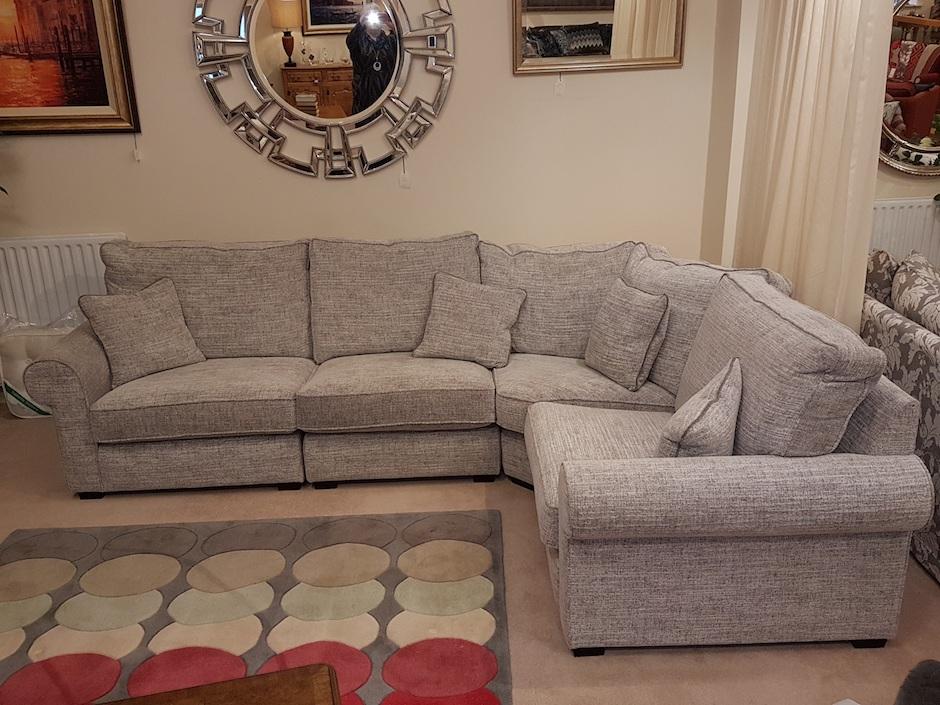 Bobbin Corner Sofa